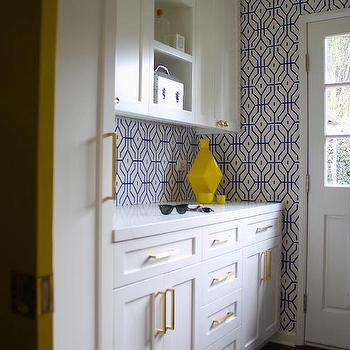 Wallpaper - Laundry Room